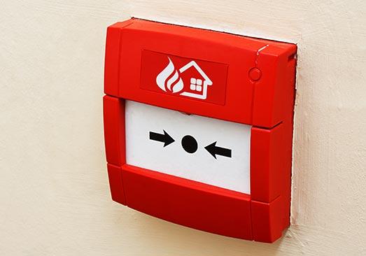 alarme incendie, alarme incendie type 4, détecteur de fumée